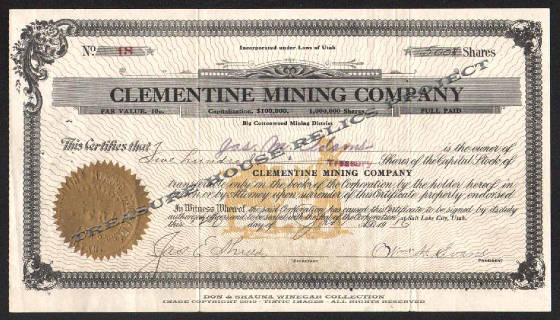 Clementine Mining Company 18