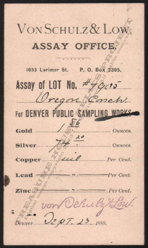 LETTERHEAD/ASSAY_VON_SCHULZ_AND_LOW_ASSAY_OFFICE_DENVER_COLORADO_OREGON_LODE_1889_9_23_DSW_323_400_CROP_EMBOSS.jpg