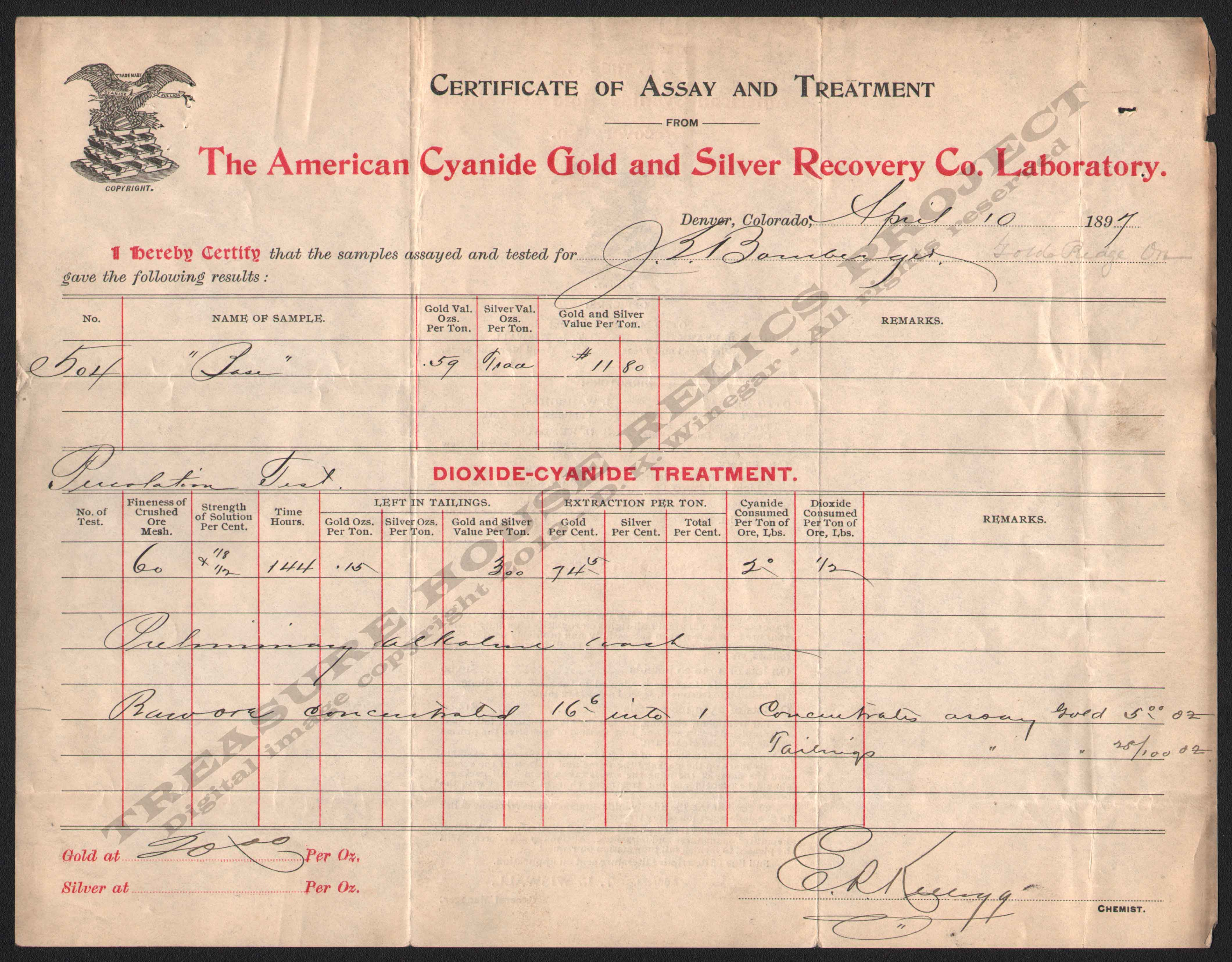 LETTERHEAD/ASSAY_AMERICAN_CYANIDE_GOLD_AND_SILVER_RECOVERY_COMPANY_LABORATORY_DENVER_COLORADO_1897_4_10_FRONT_DSW_323_400_CROP_EMBOSS.jpg