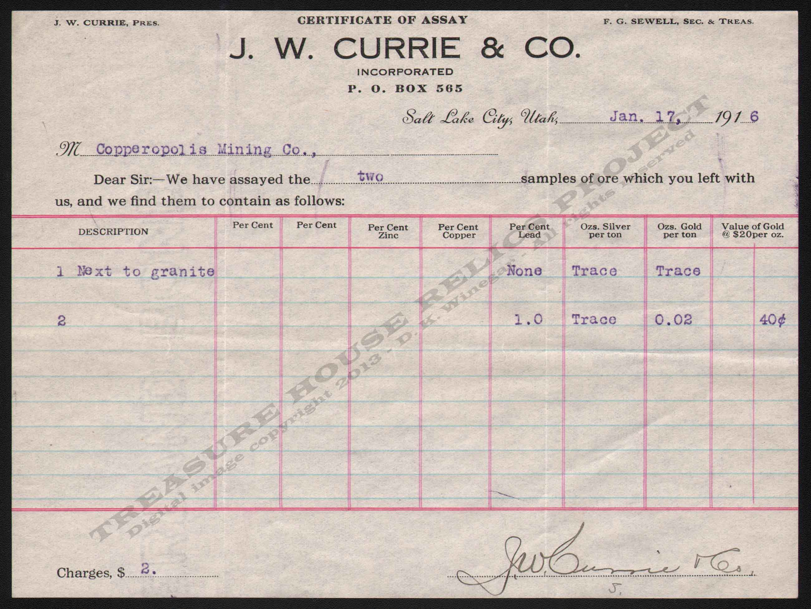 LETTERHEAD/ASSAY_CURRIE_J_W_CO_COPPEROPOLIS_1916_1_17_300_CROP_EMBOSS.jpg