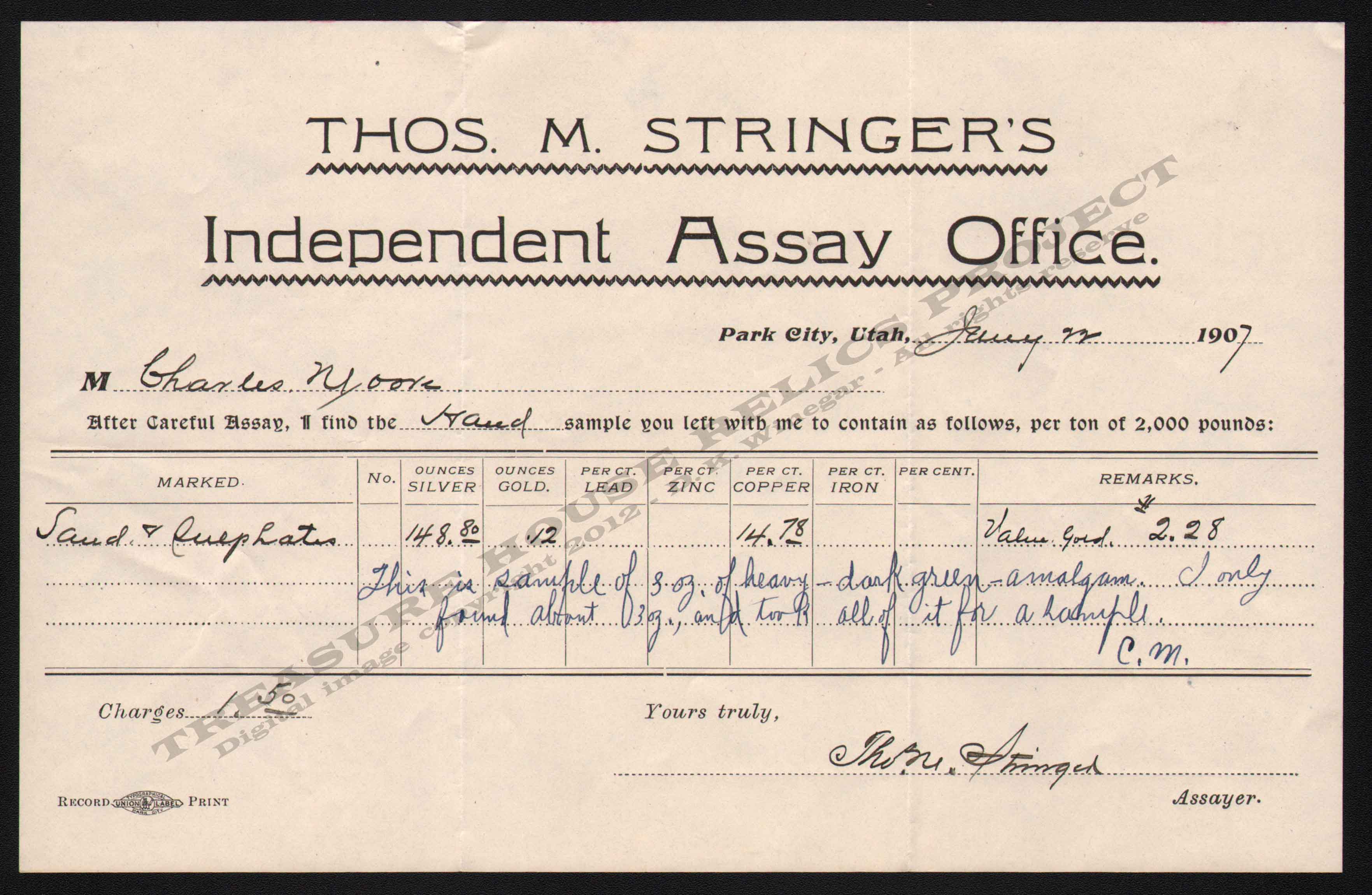 LETTERHEAD/ASSAY_STRINGERS_INDEPENDENT_7_22_1907_KIRK_400_CROP_EMBOSS.jpg