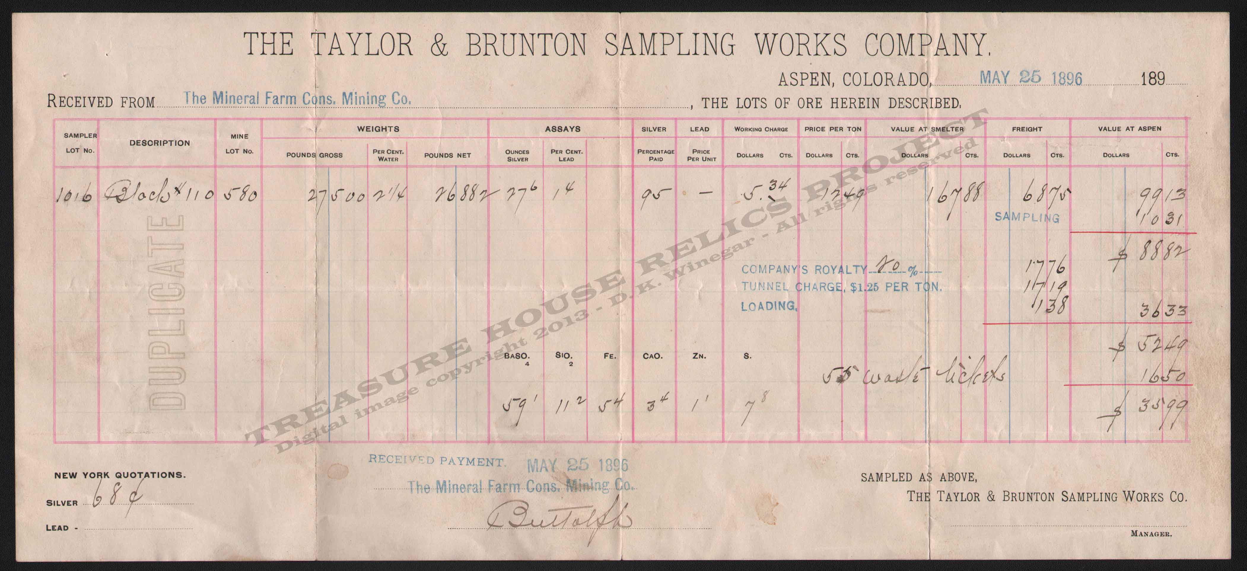 LETTERHEAD/ASSAY_TAYLOR_BRUNTON_ASPEN_COLORADO_1896_5_25_300_CROP_EMBOSS.jpg