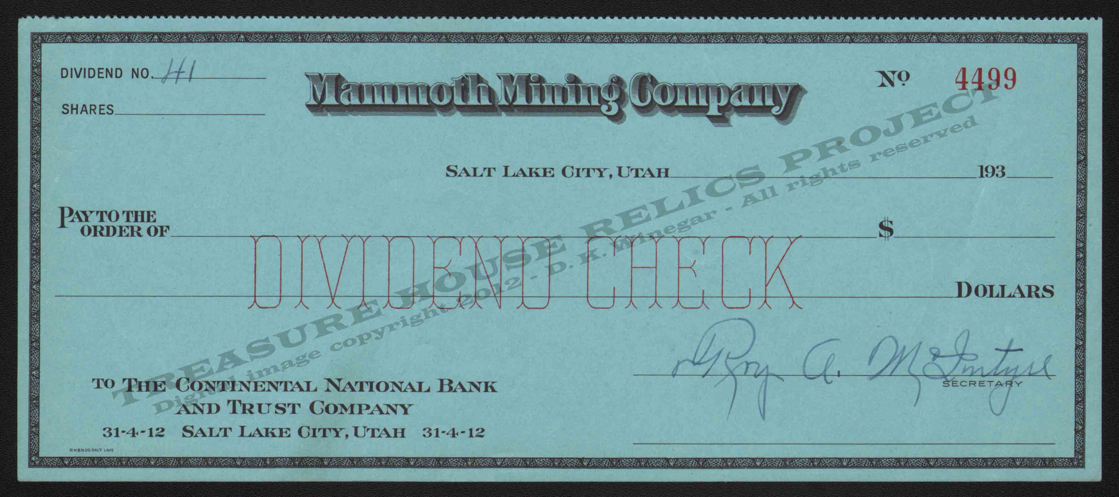 LETTERHEAD/CHECK_MAMMOTH_MINING_COMPANY_DIVIDEND_41_4499_193X_GP_400_CROP_EMBOSS.jpg