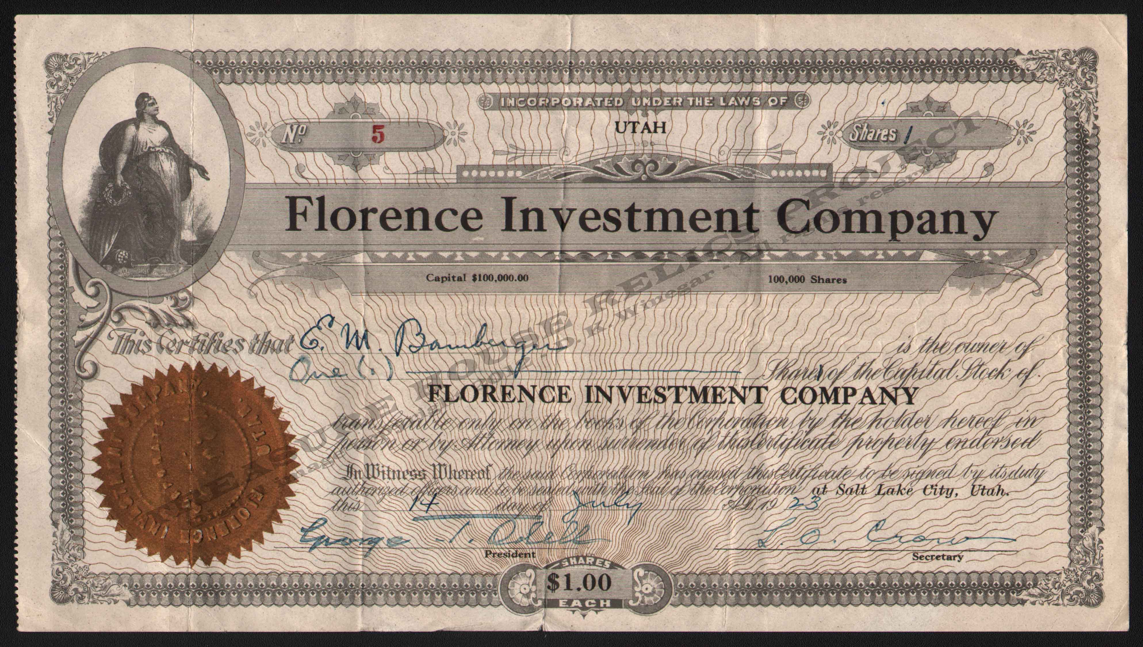 LETTERHEAD/FLORENCE_INVESTMENT_COMPANY_5_1923_BAM_400_CROP_EMBOSS.jpg