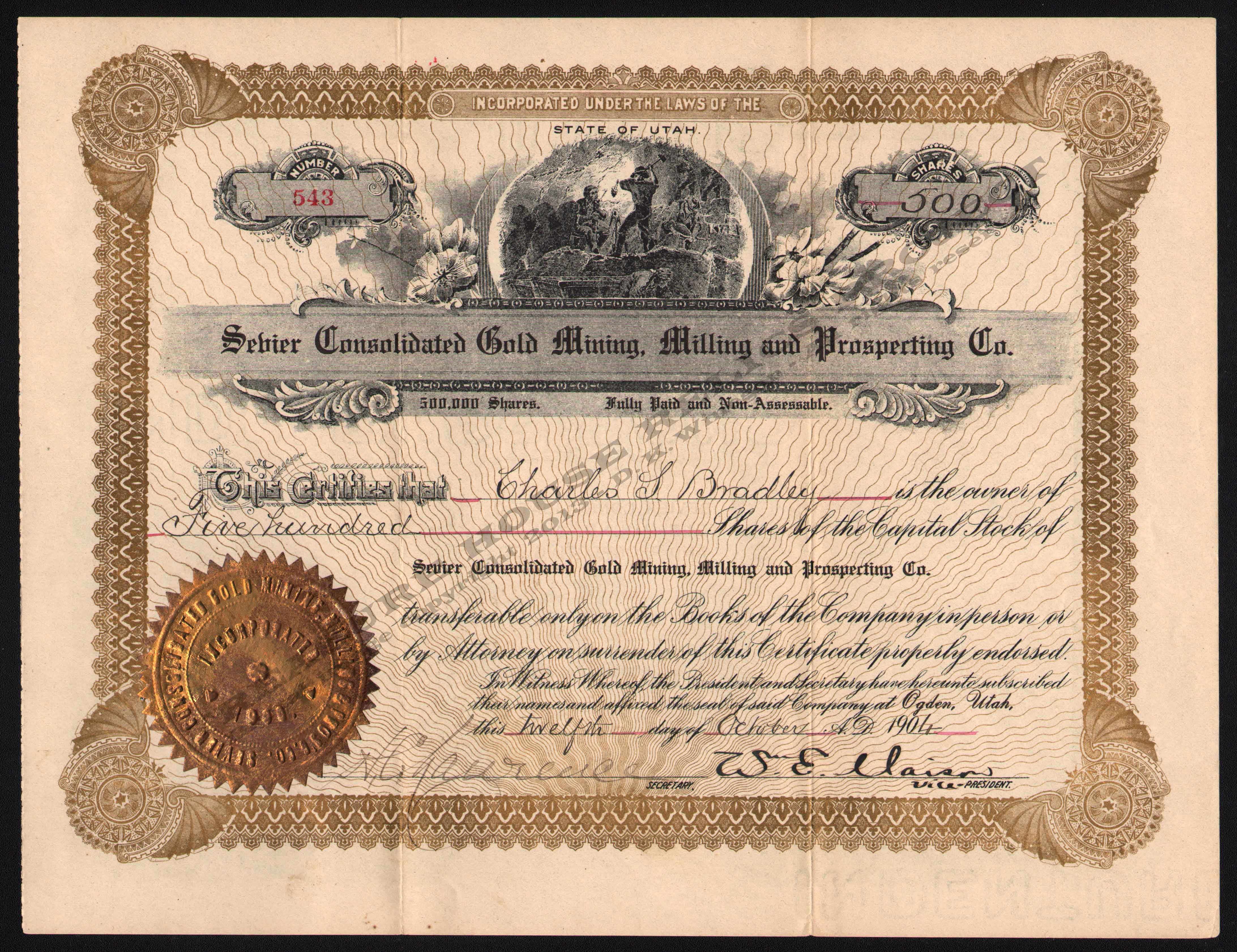 LETTERHEAD/SEVIER_CONSOLIDATED_GOLD_MINING_MILLING_PROSPECTING_COMPANY_543_1904_GP_400_CROP_EMBOSS.jpg